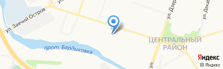 Садовод+ на карте Сургута