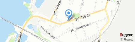 Восход на карте Омска