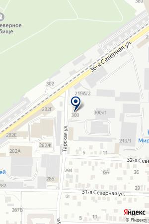 ГрандОкно-Сервис на карте Омска