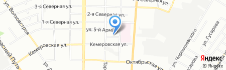 Детский сад №59 на карте Омска