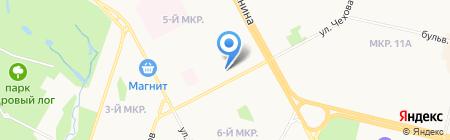 Мир сладостей на карте Сургута