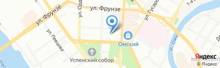 Консультант-Тур на карте Омска