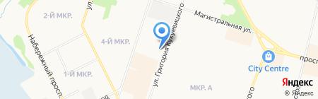 СПАТО на карте Сургута