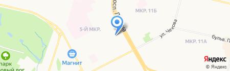 Центр печати и фотоуслуг на карте Сургута