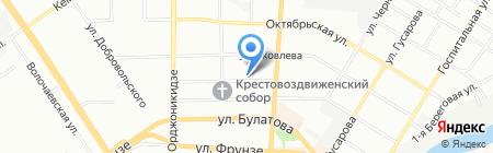 Троя на карте Омска
