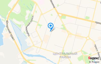 Местоположение на карте пункта техосмотра по адресу Ханты-Мансийский Автономный округ - Югра АО, г Сургут, ул Григория Кукуевицкого, д 13