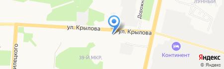 АЗС СИБ ТЭК на карте Сургута