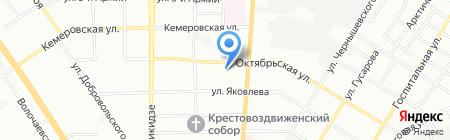 Специмпорт на карте Омска