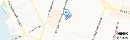 Любой Каприз на карте Сургута