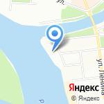 Маяк на карте Омска