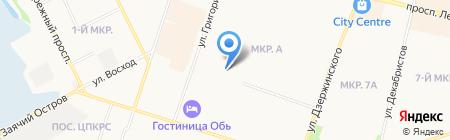 Детская школа искусств им. Г. Кукуевицкого на карте Сургута