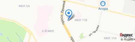 Банкомат СтарБанк на карте Сургута