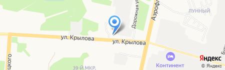 РИФ на карте Сургута