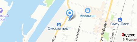 Aqua Marina на карте Омска