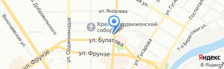 Поли Плюс на карте Омска