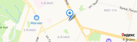 Сургутское управление буровых работ №1 на карте Сургута
