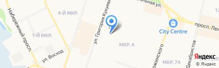 Федеральная кадастровая палата Росреестра по ХМАО-Югре на карте Сургута