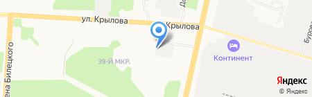 Анонимные Наркоманы на карте Сургута