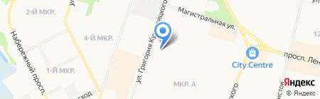 Детский сад №41 на карте Сургута