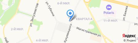 ДОМ МЕХА на карте Сургута