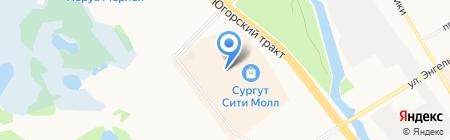 Modis на карте Сургута