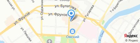 Банкомат ВТБ 24 на карте Омска