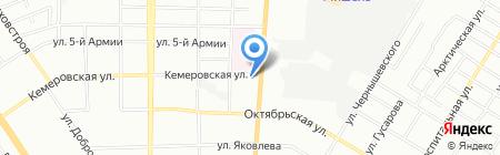 СТАНДАРТ НЕДВИЖИМОСТЬ на карте Омска
