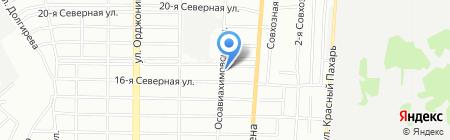 Сусанна на карте Омска