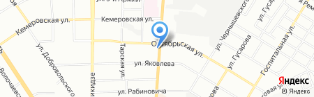 Лидер света на карте Омска
