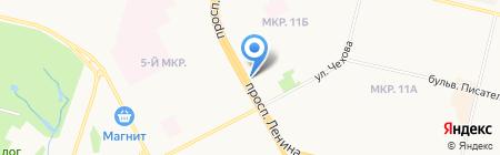 Евросеть на карте Сургута