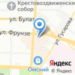 KAWA-KAWA на карте Омска