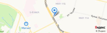 Магазин мультимедийной продукции на карте Сургута