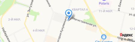 Сургутская городская стоматологическая поликлиника №1 на карте Сургута