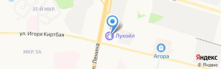 Сургутский процессинговый центр на карте Сургута