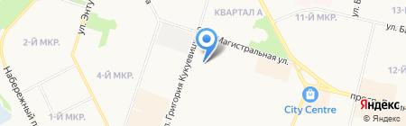 Нефть-Cервис Прокат на карте Сургута