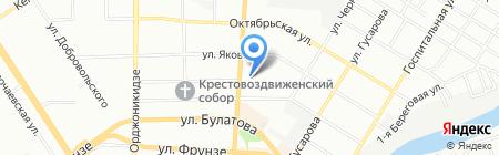 Сорокин на карте Омска