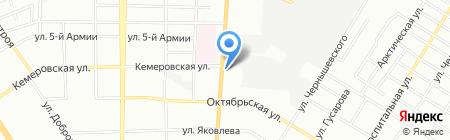 ДиалогАвиаТрэвел на карте Омска