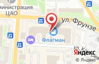 Схема проезда до компании Телетрейд-Омск в Омске