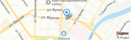 Visage studio на карте Омска