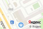 Схема проезда до компании 60 копеек в Сургуте