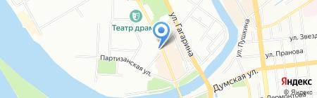 Банкомат Балтийский Банк на карте Омска