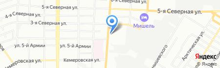 Евразия моторс на карте Омска