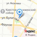 Снежная Королева на карте Омска