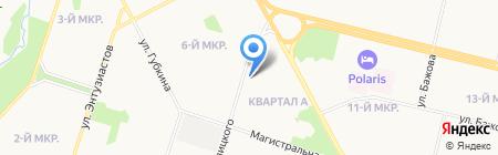 Магазин бытовой химии на ул. Кукуевицкого на карте Сургута
