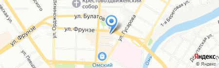 Банкомат МДМ Банк ПАО на карте Омска