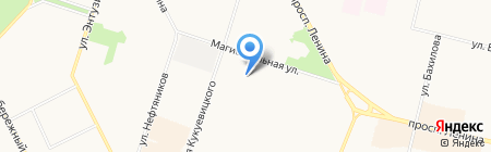 Пожарная часть №26 на карте Сургута