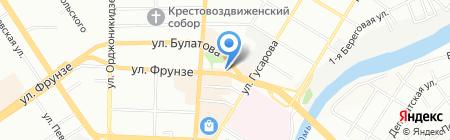 Омская ритуальная компания Память-В на карте Омска