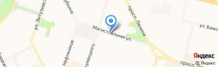 Салон дверей на карте Сургута