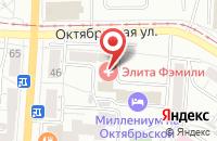 Схема проезда до компании Трендлайн в Омске