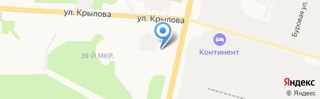АВТОЛЮКС на карте Сургута